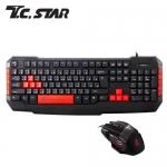 T.C.STAR KIT9904RD 鍵盤 滑鼠組合包-紅