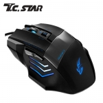 T.C.STAR TCN192BU 6D光學電競滑鼠-藍