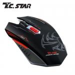 T.C.STAR TCN193RD 紅色電競光學滑鼠