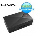 精英 LIVA X 2G/32G/W10 迷你PC