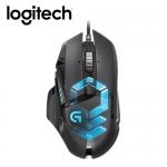 羅技 G502 RGB自調控遊戲滑鼠【送羅技 G940 全區電競滑鼠墊】