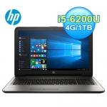 HP 惠普 15-ay020TX 15.6吋 筆電(銀)