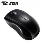 T.C.STAR TCN636BK 無線藍光滑鼠-黑
