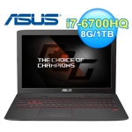 ASUS 華碩GL552VL-0023B 15.6吋 電競筆電 黑