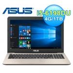 ASUS 華碩 X556UR-0131C 15.6吋 筆電 霧金 W10【240G SSD 1TB雙碟改裝版】