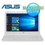 ASUS 華碩 X556UR-0153G 15.6吋 筆電 白 W10【240G SSD 1TB雙碟改裝版】