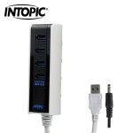 INTOPIC 廣鼎 USB3.0 全方位高速集線器 HB-350