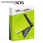 任天堂 New 3DS LL 日規主機 萊姆綠x黑