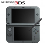 任天堂 New 3DS LL 日規主機 金屬黑