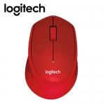 Logitech 羅技 M331 無線靜音滑鼠-紅