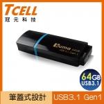 TCELL USB3.1 GEN1 KUMA碟64GB