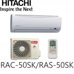 【HITACHI日立】7-9坪變頻分離式RAC-50SK/RAS-50SK-