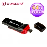Transcend 創見 JetFlash 340 OTG 64GB 隨身碟