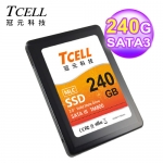 TCELL 冠元 TM800 240GB SSD固態硬碟MLC