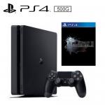 PS4 500G 薄型主機 黑 Final Fantasy 15 中文版