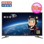 【HERAN禾聯】50型 4KUHD聯網LED液晶顯示器 視訊盒(504K-C2)