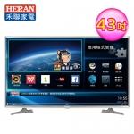【HERAN禾聯】43型 4K 智慧聯網LED液晶顯示器 視訊盒(HD-43UDF2)