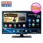 【HERAN禾聯】50型 HERTV聯網LED液晶顯示器 視訊盒(HD-50AC2)
