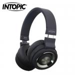 INTOPIC 廣鼎 摺疊藍芽耳機麥克風 JAZZ-BT980-BK