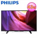 PHILIPS 飛利浦 43吋 LED液晶顯示器(43PFH5210)【不含基本安裝】