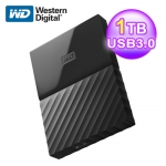 WD My Passport 1TB 2.5吋 WESN行動硬碟(黑)