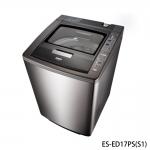 好禮送【SAMPO聲寶】17KG好取式變頻PICO PURE除菌洗衣機ES-ED17PS(不鏽鋼(S1)