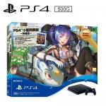 SONY PS4 500G 薄型主機 小藍同捆組-英雄版【福利品】【加碼送 PS4 遊戲2片(隨機出貨)】