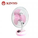 KINYO 耐嘉 12吋彩色充電風扇 CF-1201 粉
