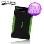 SP 廣穎 Armor A15 2.5吋1TB防震外接硬碟3.0綠