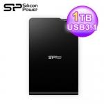 SP 廣穎 Stream S03 2.5吋1TB外接硬碟3.0 黑