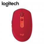 logitech 羅技 M590 多工靜音無線滑鼠 紅【贈3D觸碰燈】