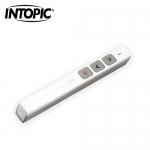 INTOPIC 廣鼎 2.4GHz無線雷射簡報筆(MS-LR26) 白色