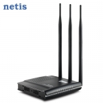 netis WF2409D 300M 大天線 黑極光無線寬頻分享器