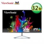 ViewSonic 優派 32型 IPS 無邊框寬螢幕 (VX3276-2K-MHD)【加贈全家35$折扣券】