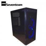 Seventeam 七盟 ST-G361 塔羅斯玻璃機殼 黑色