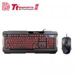 Tt eSPORTS 曜越 軍令官 三色電競鍵盤滑鼠組