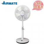 AIRMATE 艾美特 14吋DC直流立扇 FS35001RP【加贈酷冰杯】