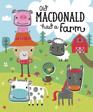 Old Macdonald had a Farm  王老先生有塊地(豆豆書)厚頁書(外文書)