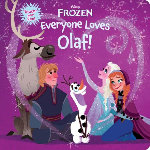 Frozen-Everyone Loves Olaf  《冰雪奇緣》:大家最愛的雪寶(厚頁書)(外文書)