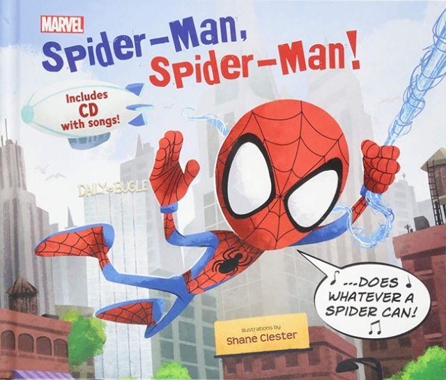 Spider-Man, Spider-Man!  你友善的好鄰居:蜘蛛人(外文書)(精裝)