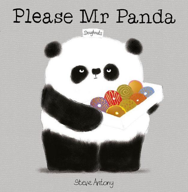 Please Mr Panda  拜託,熊貓先生(厚頁書)(外文書)