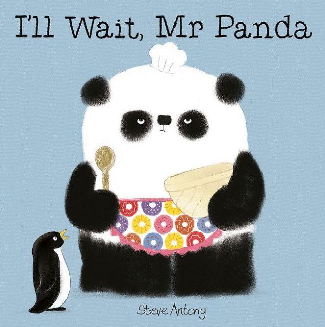 Ill Wait, Mr Panda  熊貓先生,我願意等(厚頁書)(外文書)