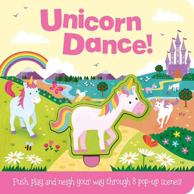 Push and Play: Unicorn Dance!   獨角獸王國(遊戲書)厚頁書(外文書)