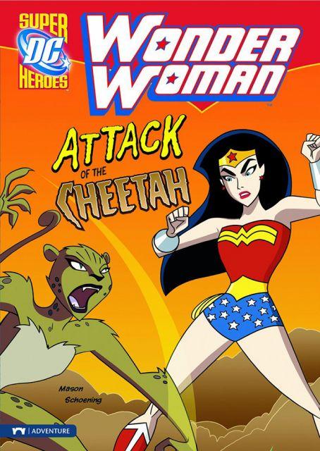 Wonder Woman: Attack of the Cheetah  神力女超人:豹女的襲擊(平裝讀本)(外文書)