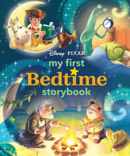 Disney*Pixar My First Bedtime Storybook  迪士尼皮克斯床邊故事集(外文書)(精裝)