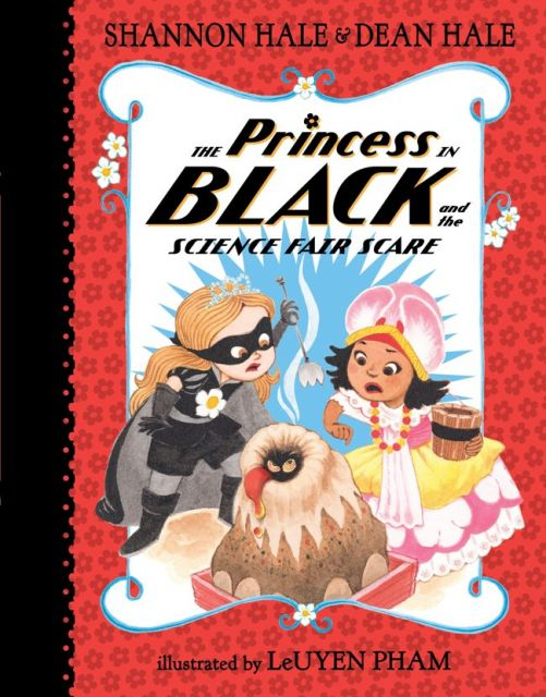 The Princess in Black and the Science Fair Scare  公主出任務:混亂的科學博覽會(外文書)