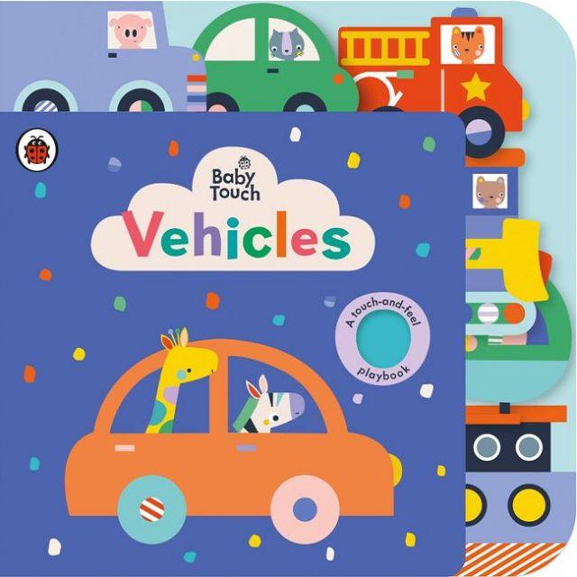 Baby Touch: Vehicles Tab Book  寶寶觸摸書:交通工具篇(厚頁書)(外文書)