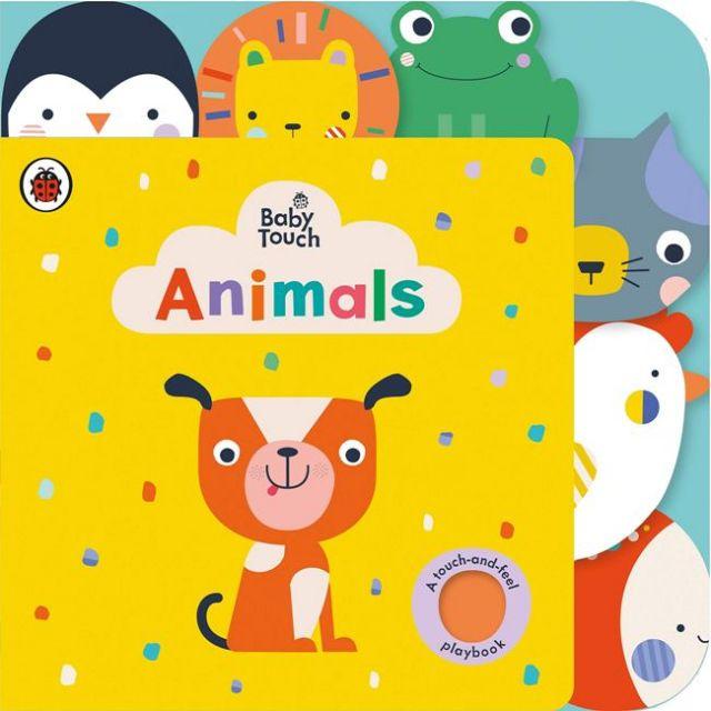 Baby Touch: Animals Tab Book  寶寶觸摸書:動物篇(厚頁書)(外文書)