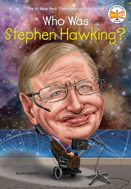 Who Was Stephen Hawking?  誰是史蒂芬霍金?(外文書)