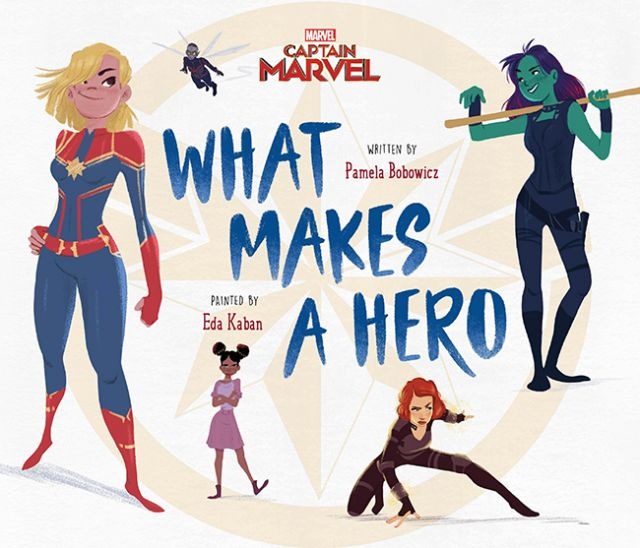 Captain Marvel: What Makes A Hero  驚奇隊長:怎樣才算英雄(外文書)(精裝)